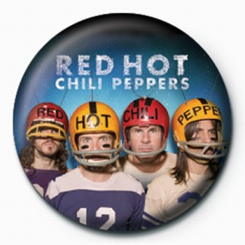Placka RED HOT CHILI PEPPERS HELM