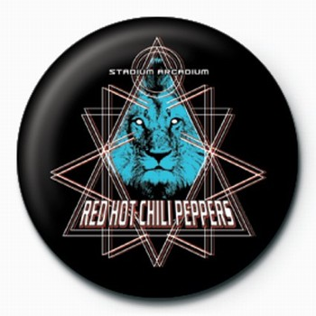 Placka RED HOT CHILI PEPPERS LION