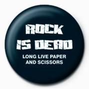 Odznak ROCK IS DEAD