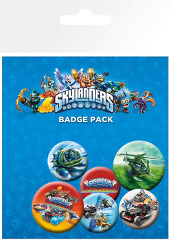 Odznak Skylanders Superchargers - Characters