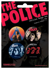placky THE POLICE - Albums