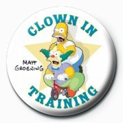 Odznak THE SIMPSONS - clown in training