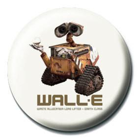 Odznak WALL E - roach
