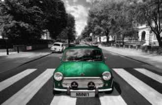 Plagát Abbey road - mini