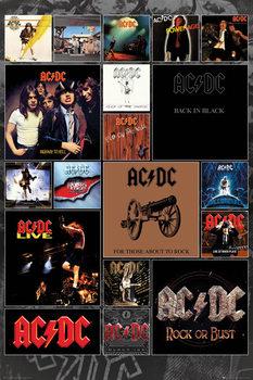 Plagát  AC/DC - Covers