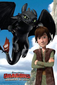 Plagát Ako si vycvičiť draka 2 - Toothless