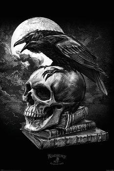 Plagát Alchemy - Poe's Raven