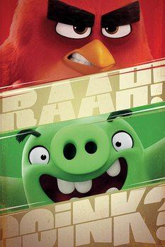 Plagát Angry Birds - Raah!