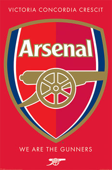 Plagát Arsenal FC - Crest