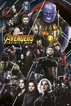 Plagát Avengers: Infinity War