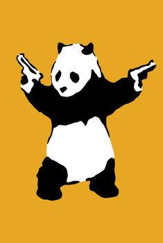Plagát Banksy Street Art - Panda