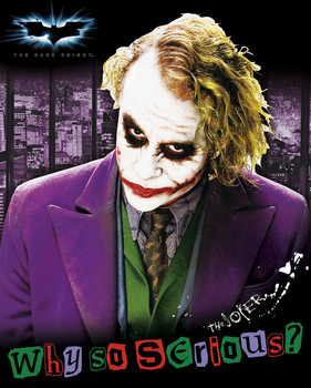 Plagát Batman: The Dark Knight - Joker