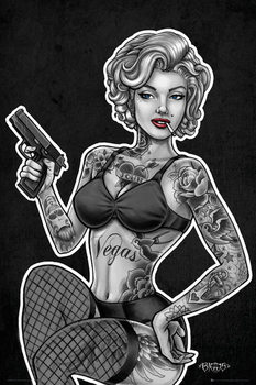 Plagát Biggs - Inked and Armed
