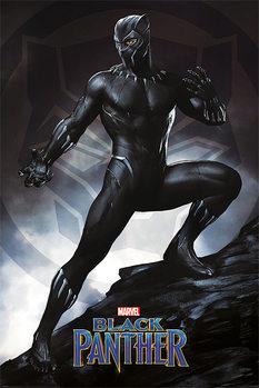 Plagát  Black Panther - Stance