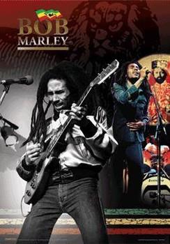 3D Plagát Bob Marley - 3D