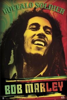 Plagát Bob Marley - buffalo