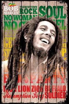 Plagát Bob Marley - songs