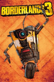 Plagát  Borderlands 3 - Claptrap