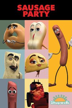 Plagát Buchty a klobásy - Characters