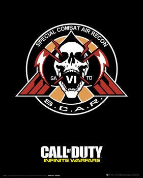 Plagát Call Of Duty: Infinite Warfare - Scar