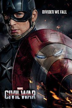 Plagát  Captain America: Civil War - Reflection