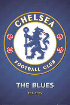 Plagát Chelsea - club crest 2013