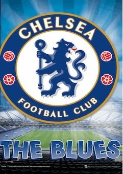 3D Plagát Chelsea - crest
