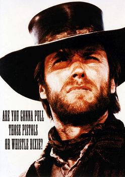 Plagát Clint Eastwood - Dixie