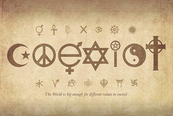 Plagát Coexist - Maxi Poster