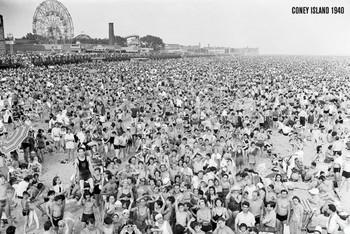 Plagát Coney Island 1941