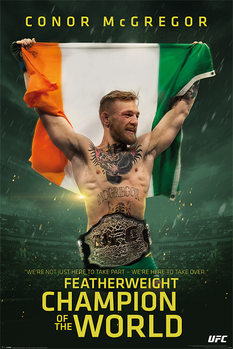 Plagát Conor McGregor - Featherweight Champion