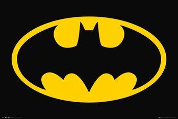 Plagát DC Comics - Bat Symbol
