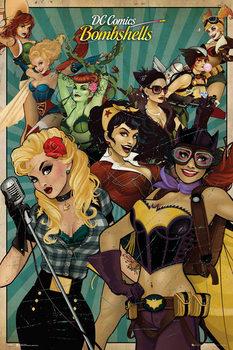 Plagát DC Comics - Bombshells