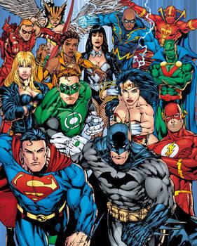 Plagát DC Comics - Cast
