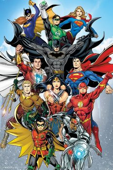 Plagát DC Comics - Rebirth