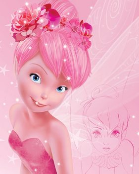 Plagát Disney víly - Tink Pink