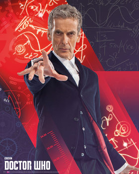 Plagát  Doctor Who - Capaldi