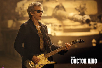 Plagát Doctor Who - Guitar Landscape