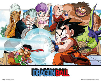 Plagát Dragon Ball - Landscape