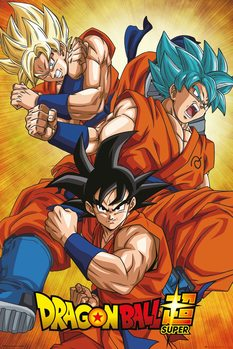 Plagát Dragon Ball Super - Goku