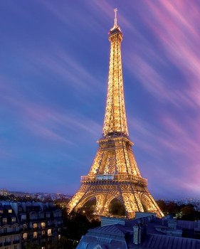 Plagát Eiffel tower