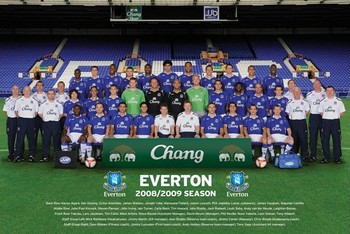 Plagát Everton - Team