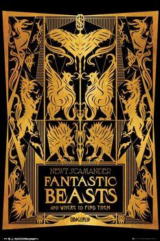 Plagát  Fantastické zvery a ich výskyt - Book Cover