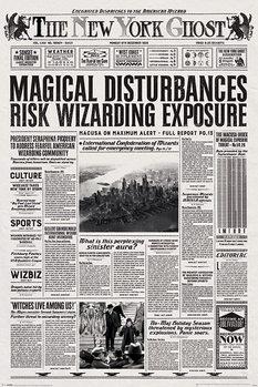 Plagát Fantastické zvery a ich výskyt - The New York Ghost