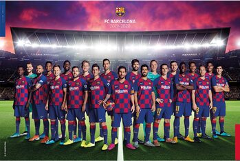 Plagát FC Barcelona 2019/2020