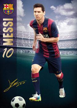 Plagát FC Barcelona - Messi 14/15