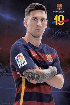 Plagát FC Barcelona - Messi Pose 2015/2016