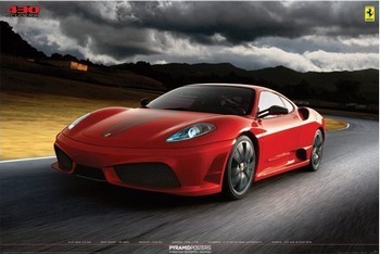 Plagát Ferrari - 430 scuderia