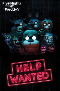 Plagát Five Nights at Freddy's - Help Wanted