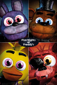 Plagát Five Nights At Freddy's - Quad